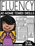 First Grade Fluency At-Home Timed Drills (for the year)