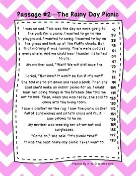 First Grade Fluency Bundle