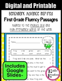 Benchmark Advance Fluency Passages 1st Grade - Google Slides™- Distance Learning