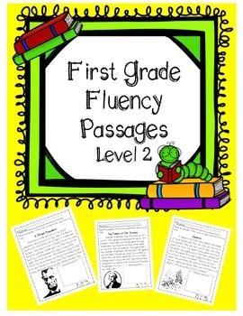 First Grade Fluency Passages (Level 2)
