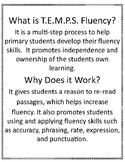 First Grade Fluency Practice-T.E.M.P.S