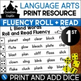 First Grade Fluency | Roll and Read