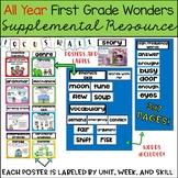 Wonders Focus Wall 1st Grade