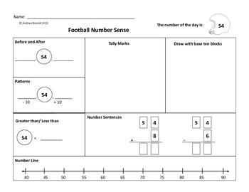 Football Math Fun