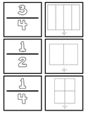 {First Grade} Fraction Memory Match