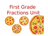 First Grade Fraction Review Powerpoint