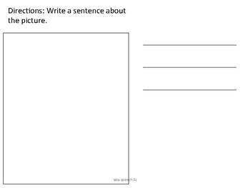 First Grade Free Writing Companion