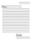 First Grade Friendly Letter Frame