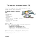 First Grade Friendly Science Fair Info for Parents