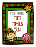 Freebie First Grade Fun Fact Families!