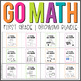 First Grade GO MATH Tabbed Booklets {A GROWING BUNDLE} | An Ultimate Discount