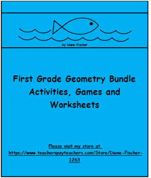 First Grade Geometry - Activities, Games and Worksheets