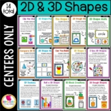 First Grade Geometry Centers