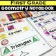 First Grade Geometry Interactive Notebook