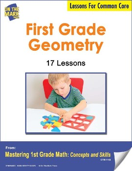 First Grade Geometry  Lesson Plans -  Aligned to Common Core