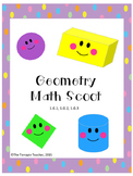 First Grade Geometry Math Scoot