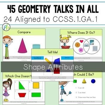 First Grade Geometry Talks - Shapes