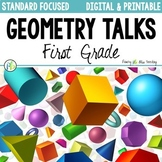First Grade Geometry Talks - Shapes