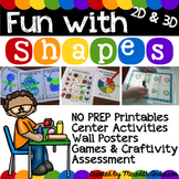 Geometry for 1st Grade Fun with Shapes