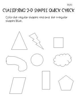 First Grade Geometry and Fractions Assessments