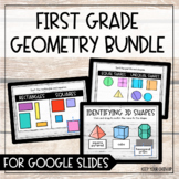 First Grade Geometry for Google Slides - Distance Learning