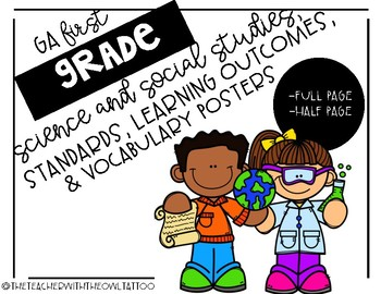 First Grade Georgia Science and Social Studies Standards