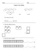 First Grade Go Math Chapter 1 Teacher-Made Test
