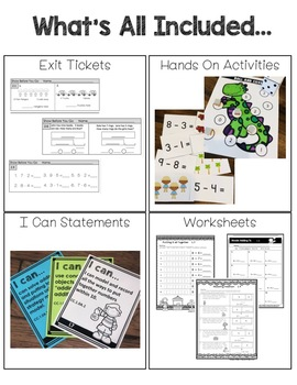 Go Math! First Grade Chapter 2 Supplemental Resources-Common Core