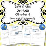 First Grade Go Math Chapter 4 Review Homework