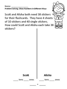 First Grade Go Math Chapter 6 Lesson 8 Practice