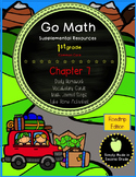 Go Math! First Grade Chapter 7 Supplemental Resources-Common Core