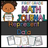 First Grade Representing Data Math Journal (Go Math Chapter 10)
