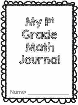 First Grade Go Math! Math Journal Chapter 1
