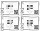 First Grade Math Task Cards: Count and Model Numbers