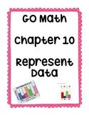 First Grade Go Math Unit 10 Represent Data