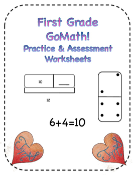 First Grade GoMath! Practice & Assessment Worksheets