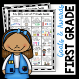 First Grade Goals and Awards - I Can Statements - Math and Reading Standards