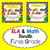First Grade Goals and Scales EDITABLE - NOT Florida's BEST