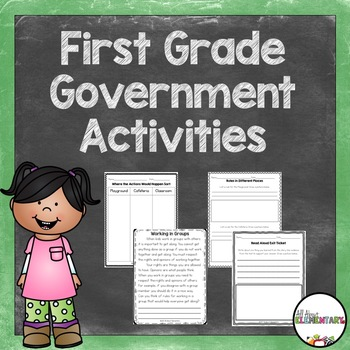 First Grade Government Activities