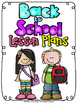 (First Grade) Grade and Subject Lesson Plan Dividers