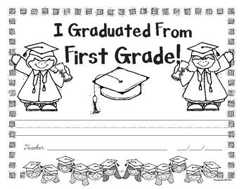 First Grade Graduation Award - Free