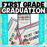 First Grade Graduation Certificates & First Grade Graduation Invitations
