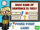 First Grade Grammar Games Quiz PowerPoint GROWING BUNDLE