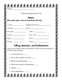 First Grade Grammar Assessment (Multiple Parts)