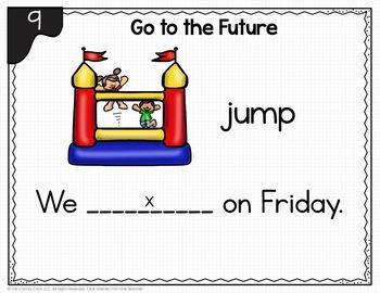First Grade Grammar Digital Task Cards Growing Bundle for Google & PPT Use