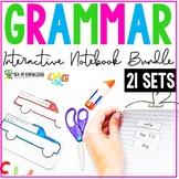 Grammar Interactive Notebook Bundle First Grade