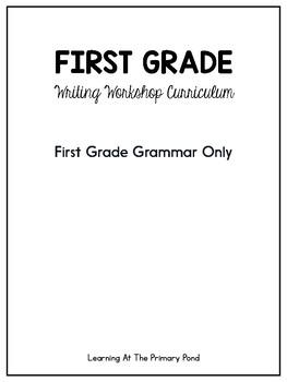 First Grade Grammar Only