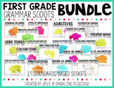 First Grade Grammar Scoot Bundle