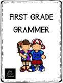 First Grade Grammer