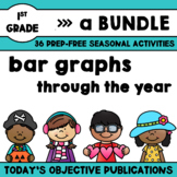 Graphing First Grade Bundle